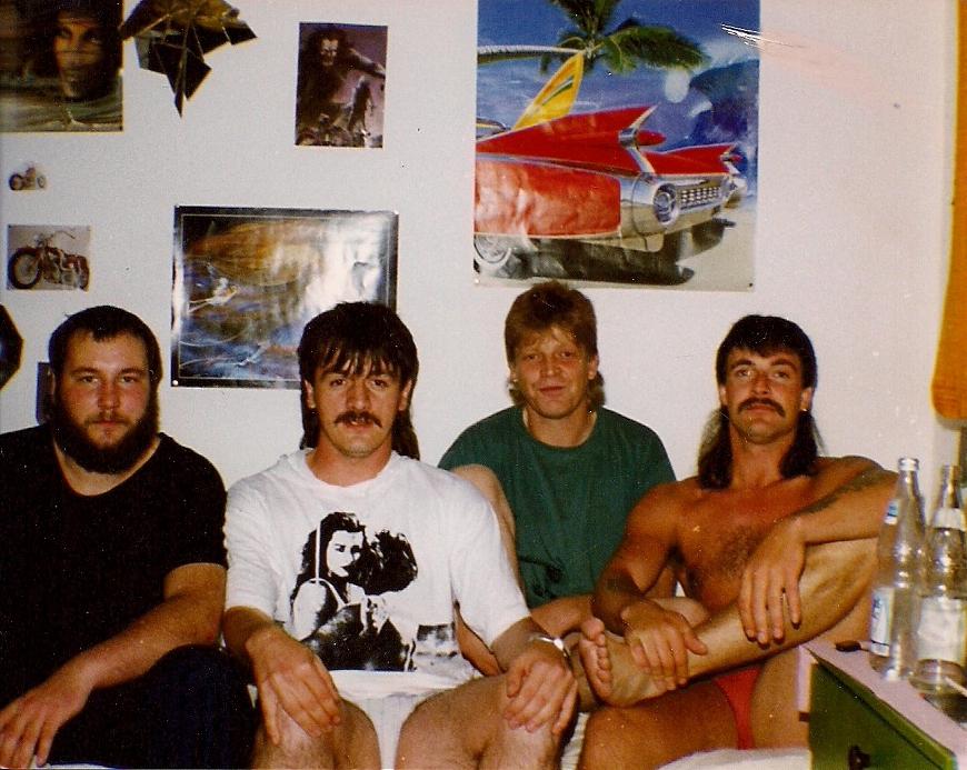 Pierwszy niemiecki Junkies Internetu 1991 - Drewno Hahn klinika Ⅱ w Reddighausen - Hesja