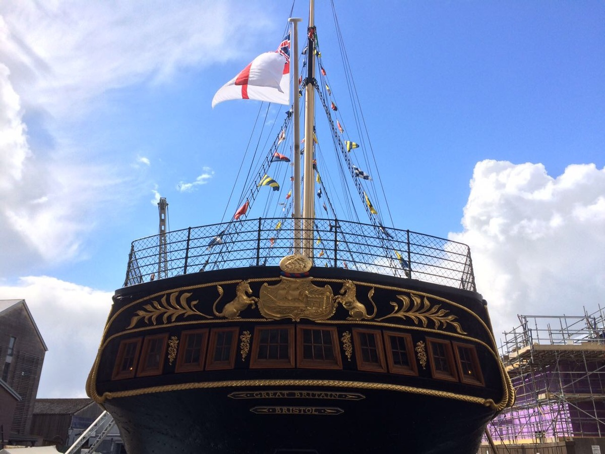British museum ship in Bristol – Great Britain