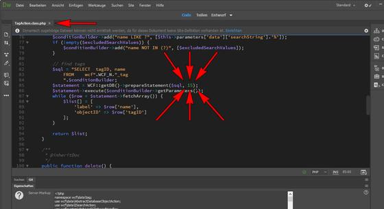 Woltlab Suite – Aumenta o número de tags no menu de seleção
