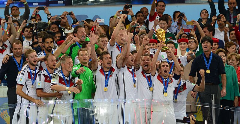 World Champion Germany of FIFA 2014