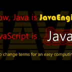 Java can be speaken and written faster than JavaScript