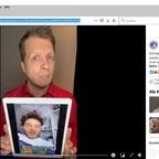 Copiar o url do vídeo da barra de endereço da janela do navegador.