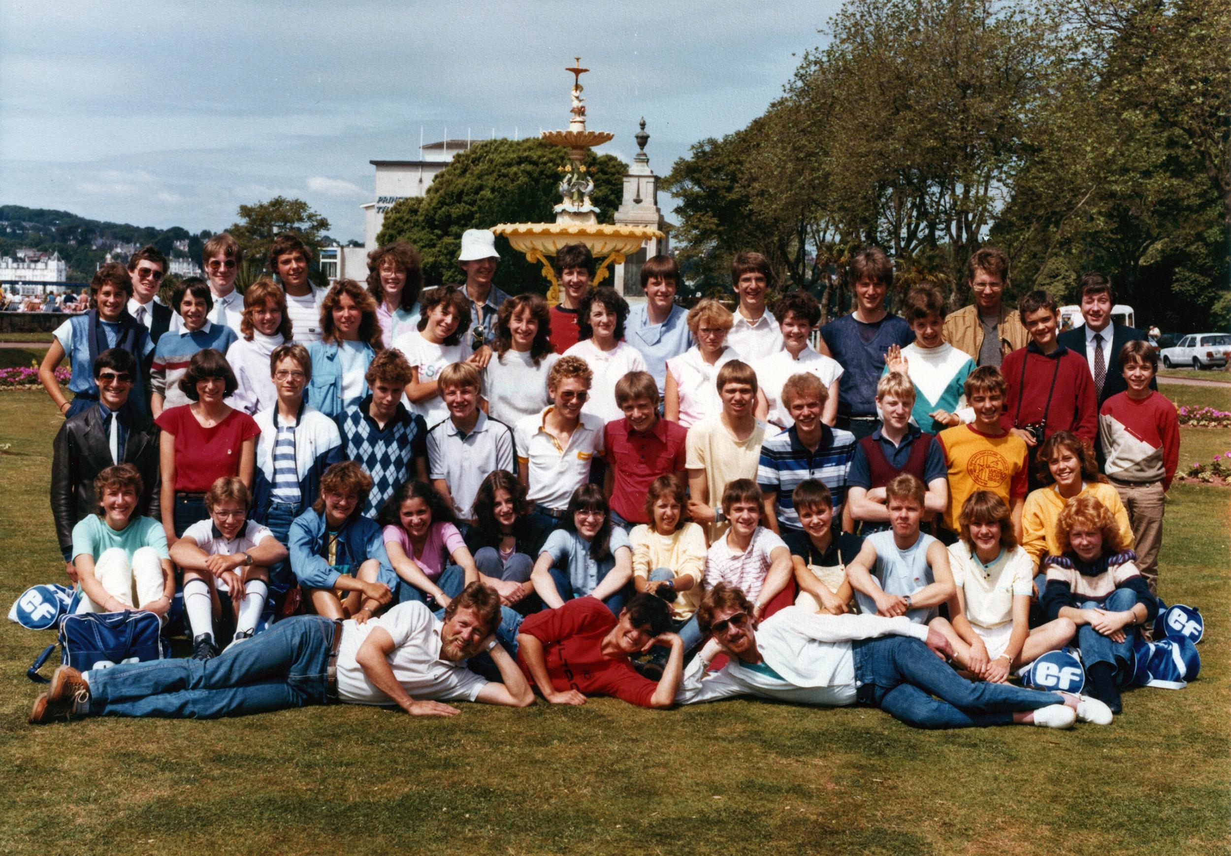 EF-Sprachschule – Torquay England – 1983
