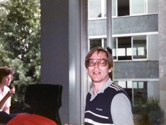Lehrer Rainer Obmann - IKS - Rüsselsheim - 1982