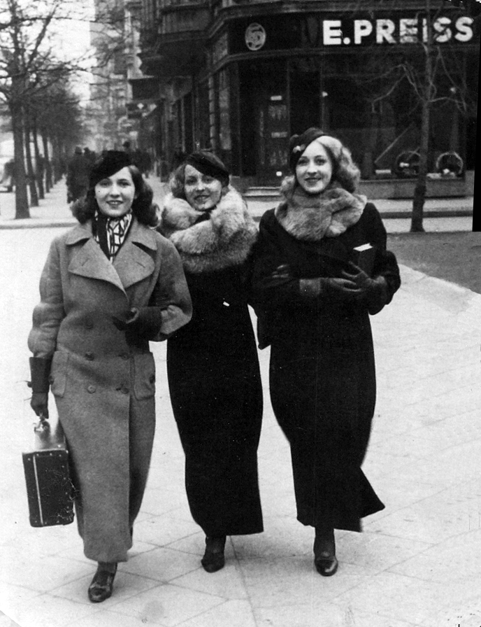 Primaballerina Jadwiga Wloch - Hedwig Wernecke and Sisters 1939