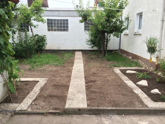 Neuer Gartenweg