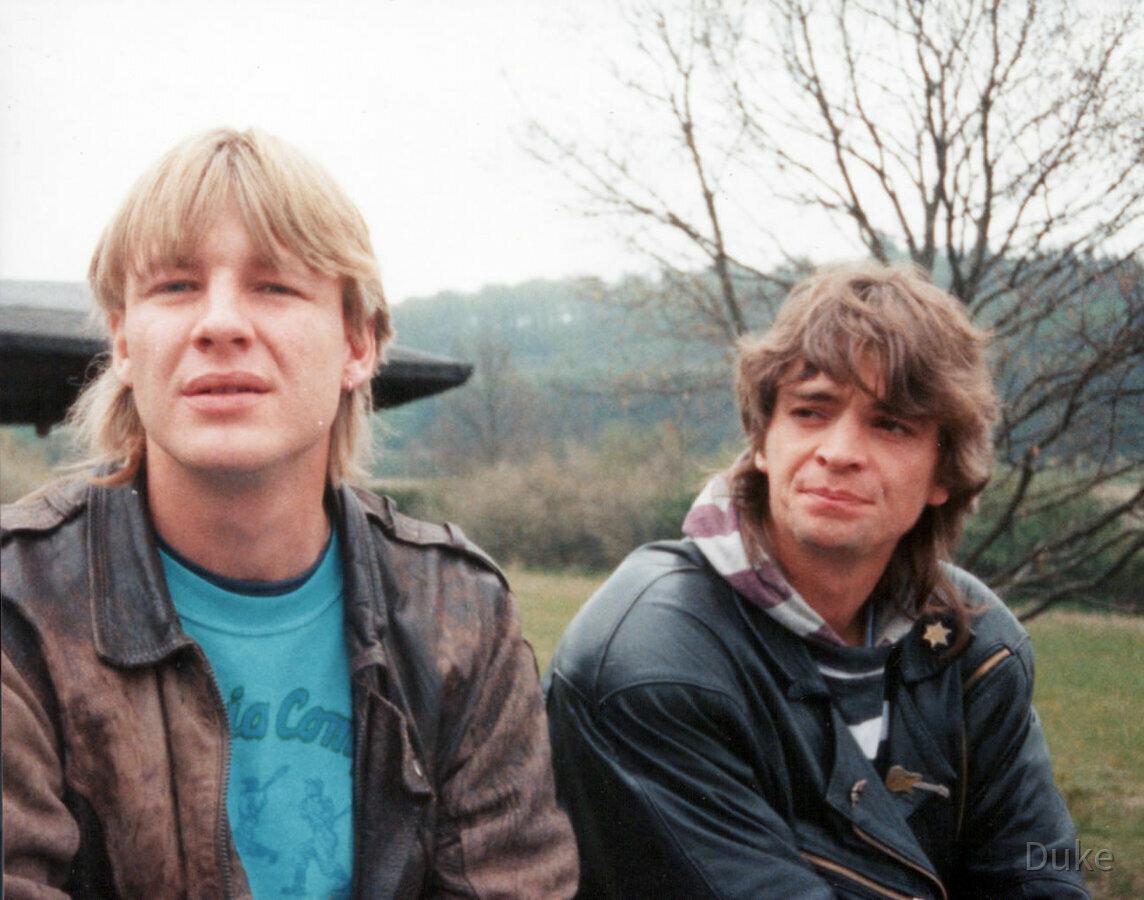 Grillen 1991 bei Frankenfeld - Hatzfeld - Bad Berleburg