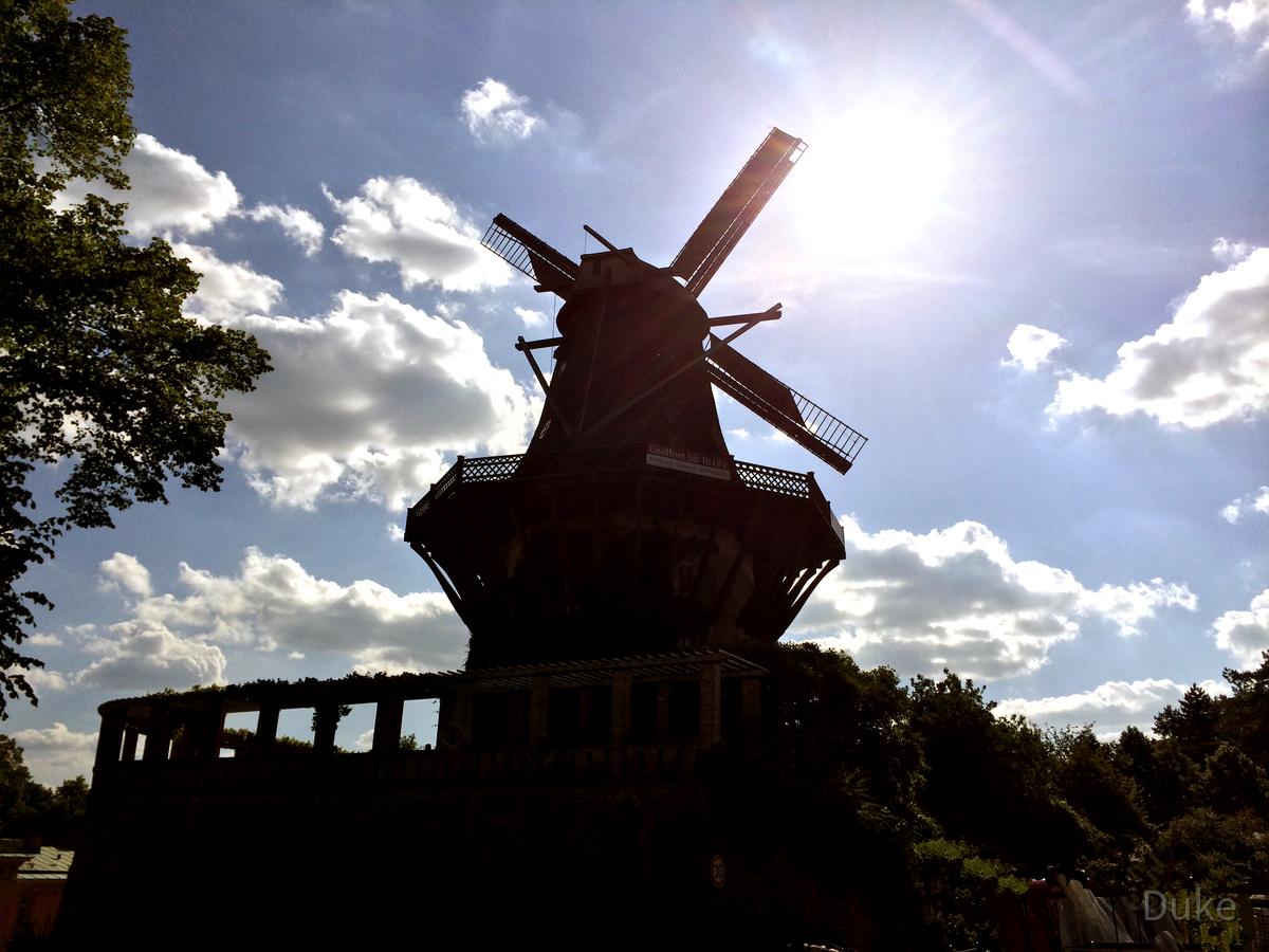 Historische Mühle am Schloss Sanssouci