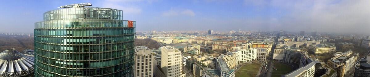 Berlin Panorama am Potsdamerplatz 1
