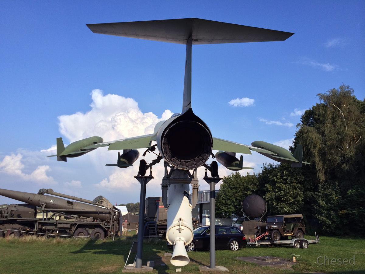 Lockheed F-104G ZELL - Rückansicht
