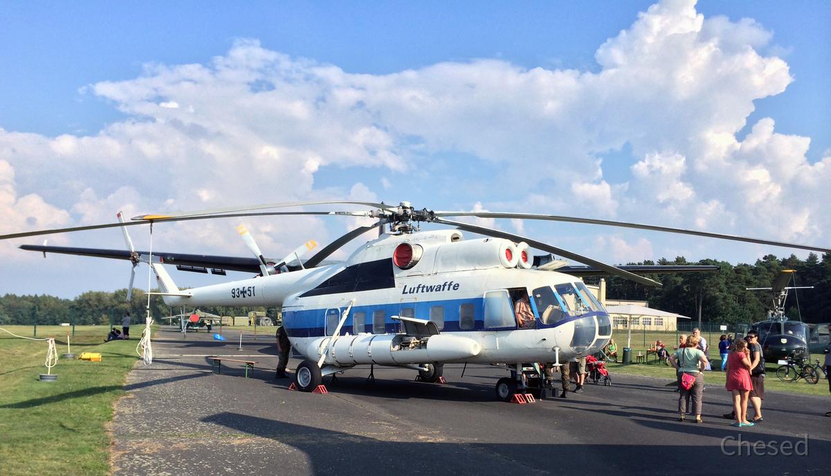 Mil Mi-8S Hip-C 9351 - Bundeswehr-Helikopter