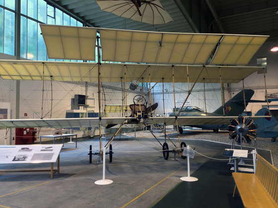Doppeldecker Farman III - 1910 - Flugplatz Johannisthal