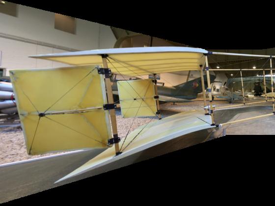 Doppeldecker Farman III - 1910 - Modell