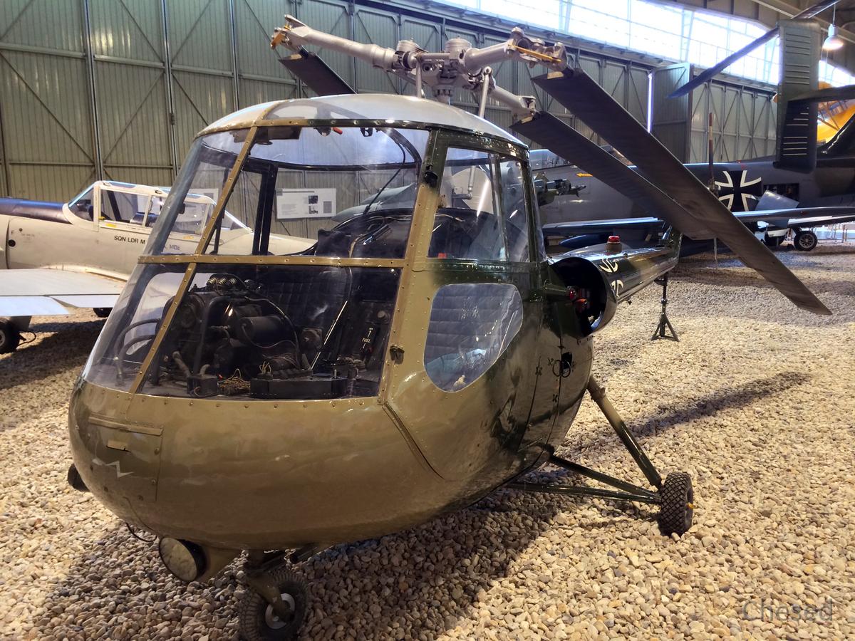 Helikopter - Saunders Roe (Skeeter) - 1948 - Großbritannien