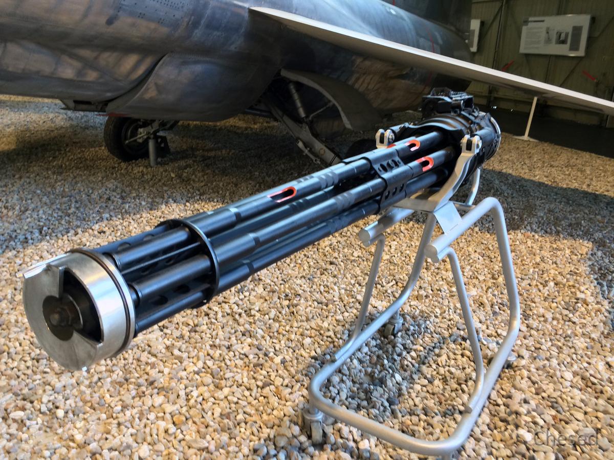 Starfighter F 104 G - Lockheed - Maschinengewehr