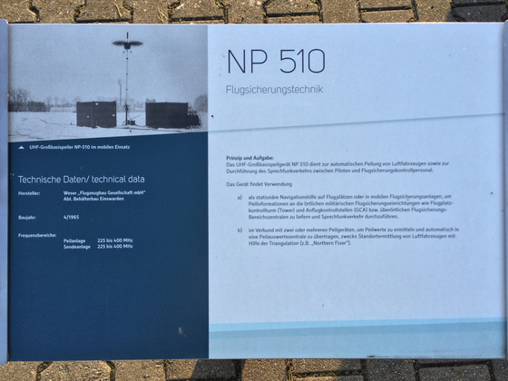 Flugsicherungstechnik NP 510 im Einsatz (Info)