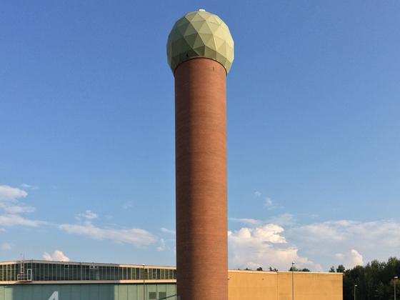 Radarturm - Radom - Flugplatz Berlin-Gatow