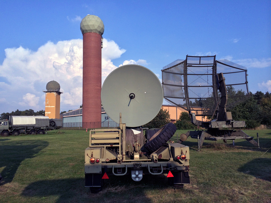 Radoms - Radaranlage BWB 23342 ARTUS Typ ME 0632 GxJ/2 - Westinghouse AN/TPS-43