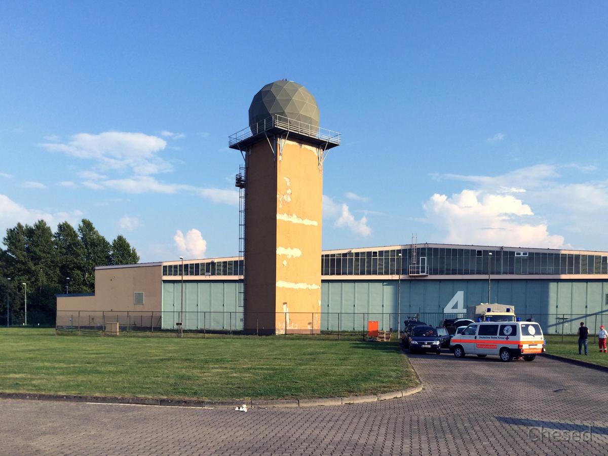 Radarturm - Radom - Luftwaffenmuseum Berlin-Gatow