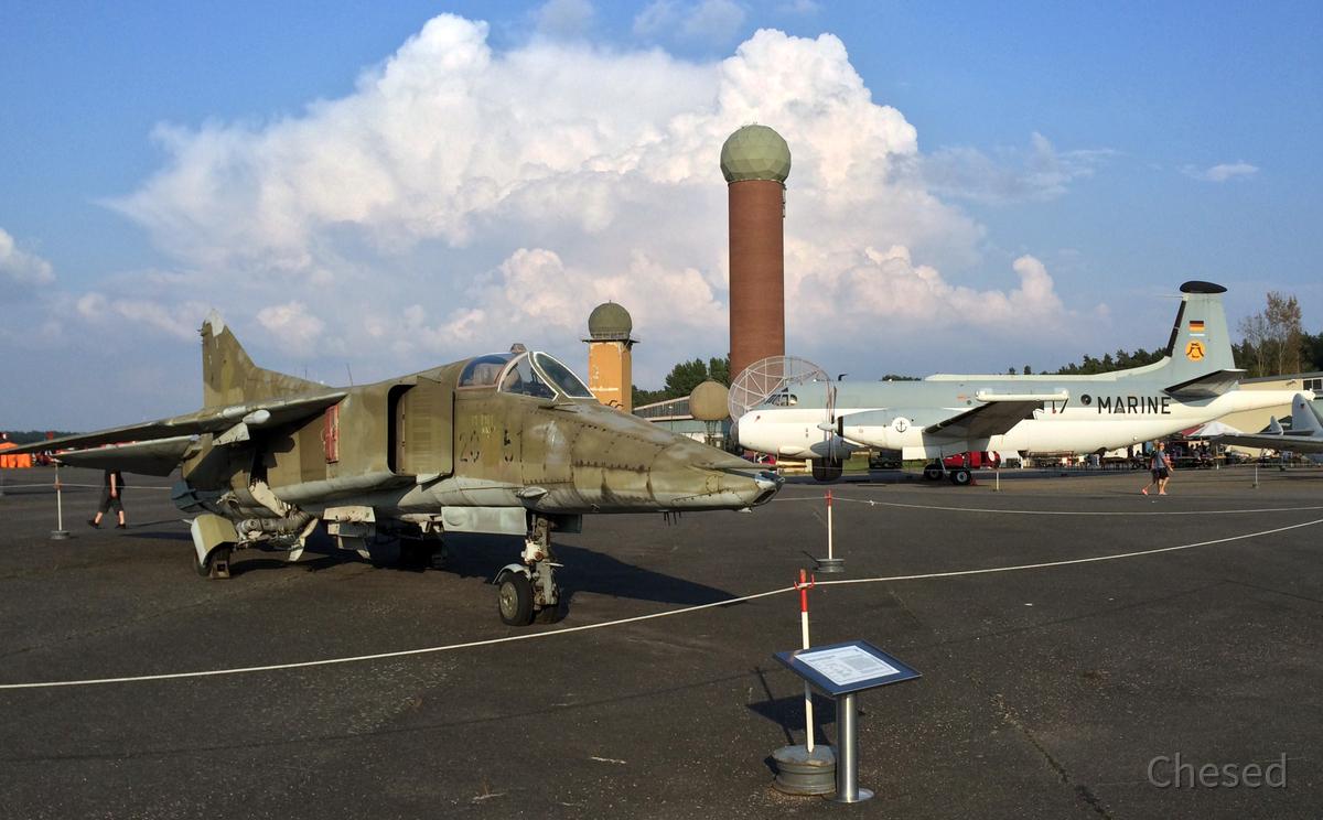 MiG-23 (NATO-Codename Flogger) - DDR
