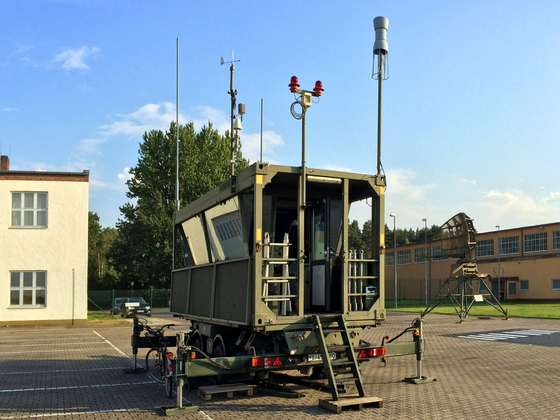 Mobile Flugsicherungsanlage - Platzkontrollstand FSA-90