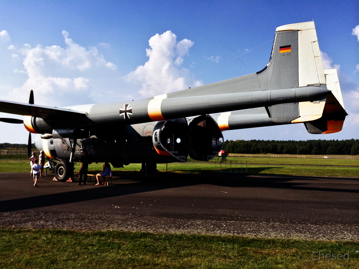 "Nord Aviation N2501D ""Noratlas"" - Aufklärungsflugzeug"