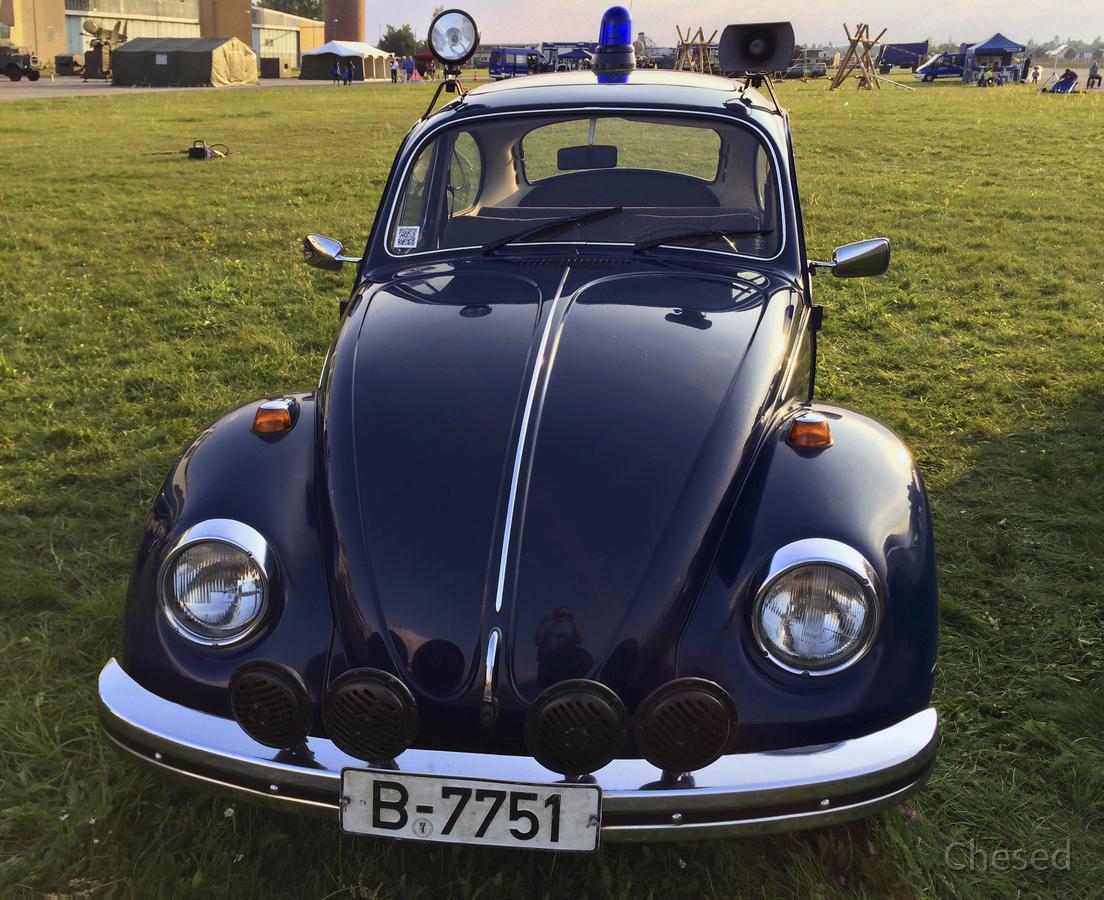 Polizei-Fahrzeug - VW Käfer - BRD