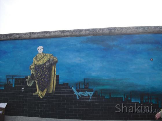 East Side Gallery - Berlin - Graffitis - Die Beständigkeit der Ignoranz