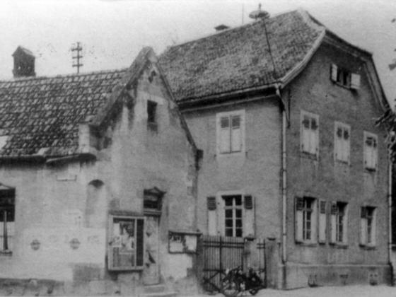 Altes Schulhaus Königstädten 1952 (1789 erbaut)