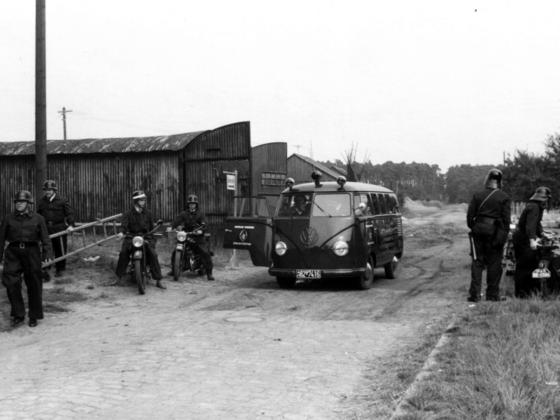 Feuerwehr Königstädten - Feuerwehrübung 1948