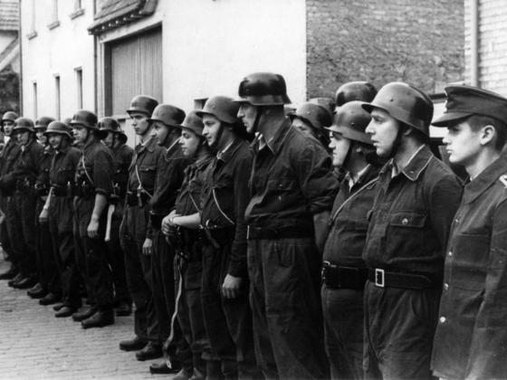Feuerwehr Königstädten - 25-jähriges Jubiläum 1955