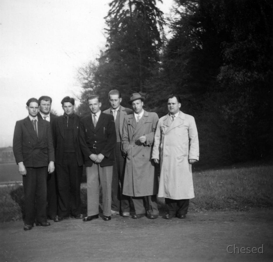 Feuerwehr Königstädten - Maschinistenlehrgang Kassel 1958 - Kassel unsicher machen