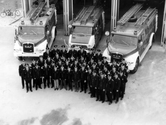 Feuerwehr Königstädten - Feuerwehrfahrzeuge 1970