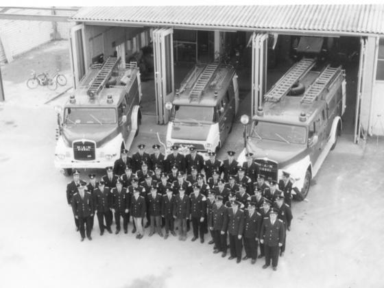 Freiwillige Feuerwehr Rüsselsheim-Königstädten 24.03.1970