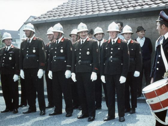 Feuerwehr Königstädten - 40. Jubiläum 5. bis 8.6.1970 - Partnerfeuer Königstetten, Österreich