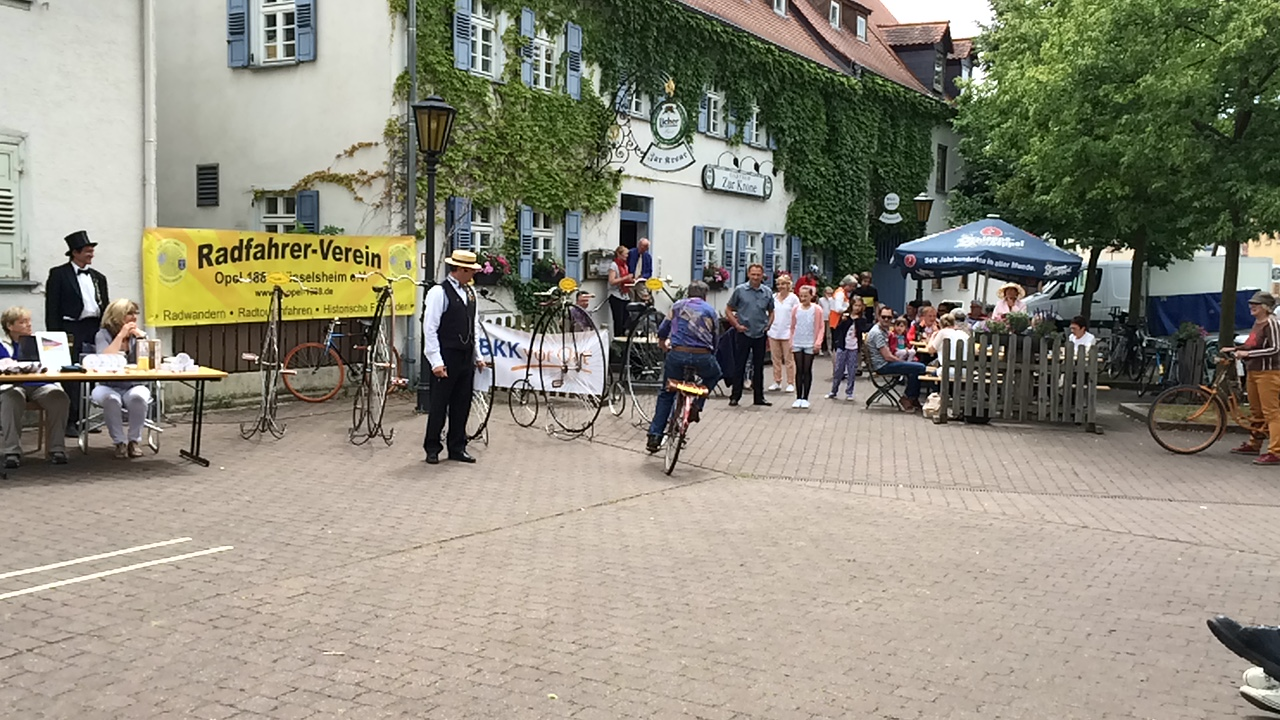 Opel-Fahrrad Parcours Opel Bicycle 2015