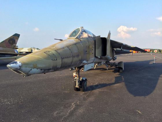 MiG-23 BN (NATO-Codename Flogger) - DDR