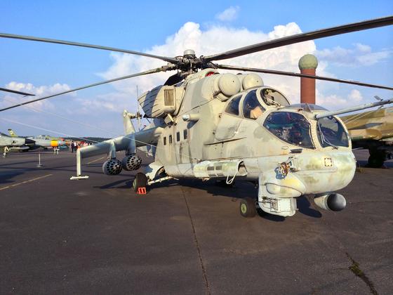 Mil Mi-24P (NATO-Code Hind F)