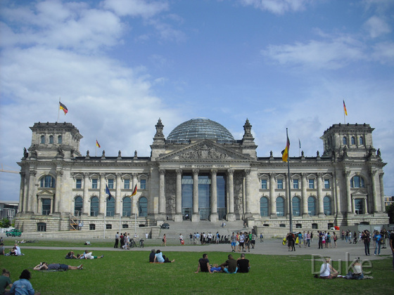 Berlin - Reichstag Berlin - 2013 - Totale