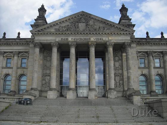 Berlin - Berliner Reichstag - 2013 - Dem Deutschen Volke