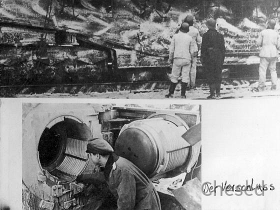 Deutsche Mörser Kanone vor Leningrad - 1942 - 2. Weltkrieg