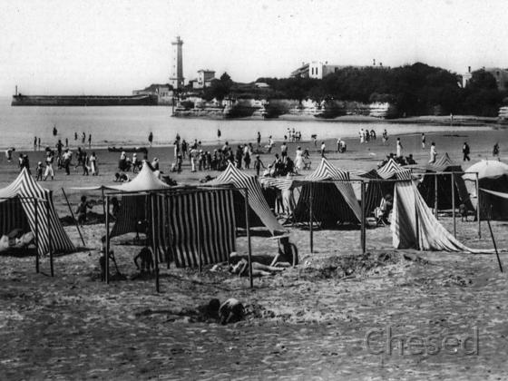 Royan 1940 - St-GEORGES DE DIDONNE - La Plage