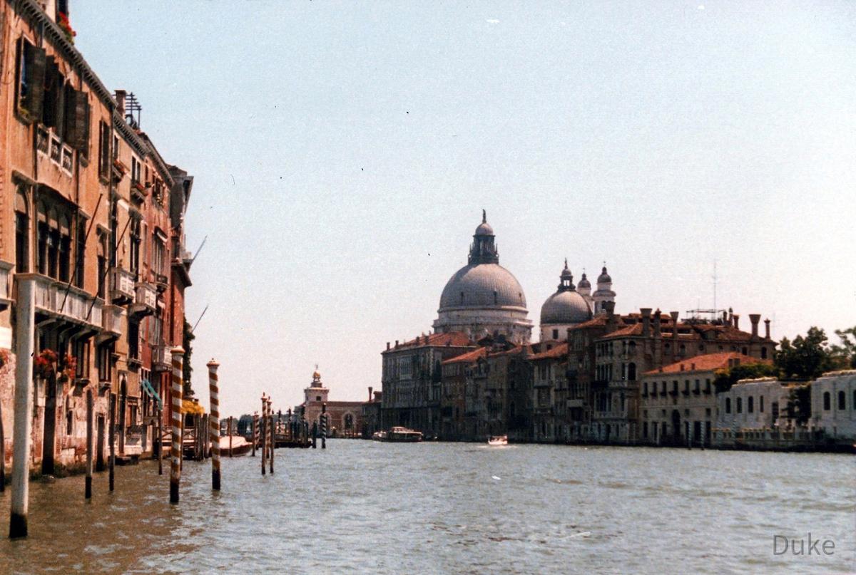 Canale Grande - Venedig - La Serenissima - 1987