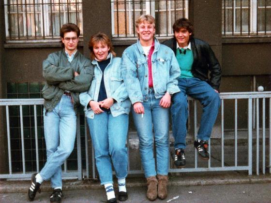 Berlin-Party-Tour 1988 - Tagesausflug Ost-Berlin - Gnadenlose Freunde