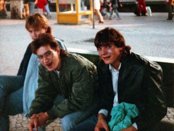 Tages-Trip nach Ost-Berlin - 1988 - Siggi - Andy - Oli