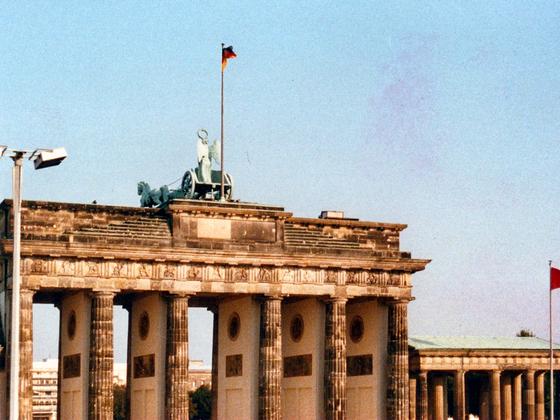 Brandenburger Tor - Berlin - 1988 - Ostberlin