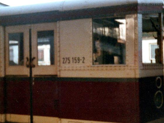 Eisenbahnwaggon DDR - 1988
