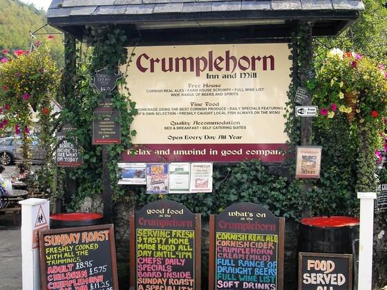 Cornwall - Polperro - gemütliche Gaststätte