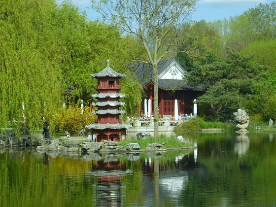 Chinesischer Garten - Marzahn - See