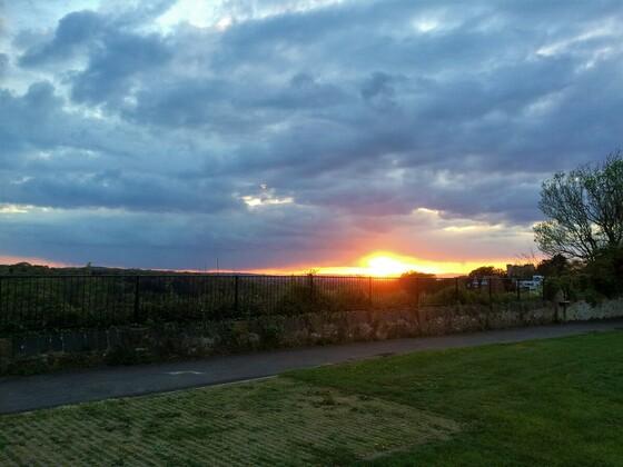 Am Avon Schlucht - Sonnenuntergang